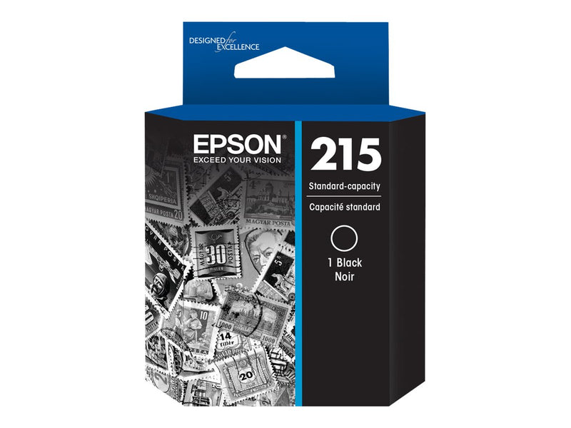 Epson 215 - Negro - original - cartucho de tinta - para WorkForce WF-100