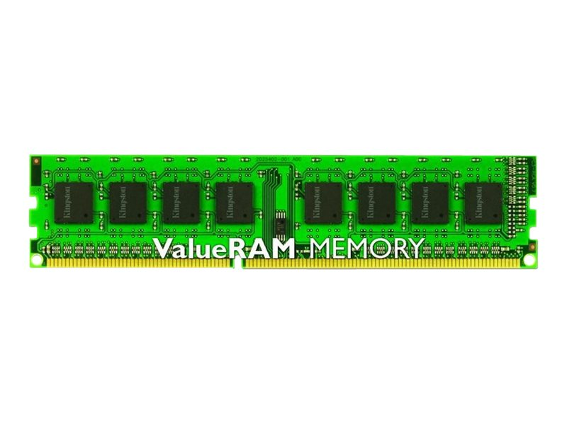 Kingston ValueRAM - DDR3 - 4 GB - DIMM de 240 espigas - 1600 MHz / PC3-12800 - CL11 - 1.5 V - sin búfer - no ECC