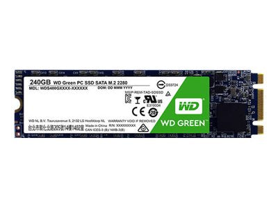 WD Green PC SSD WDS120G2G0B - Unidad en estado s—lido - 120 GB - interno - M.2 2280 - SATA 6Gb/s