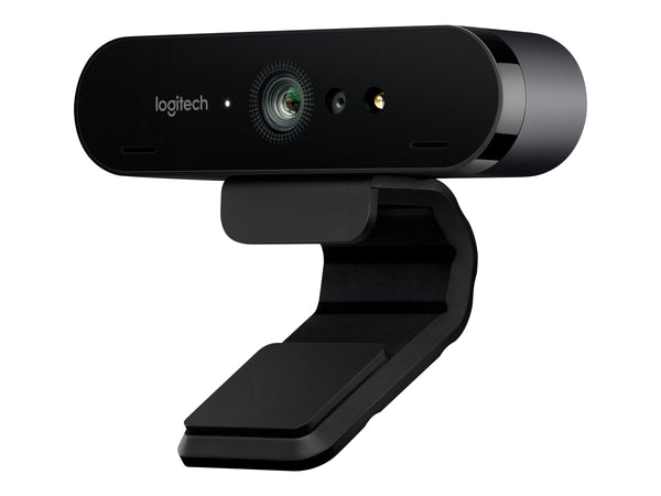 Logitech BRIO 4K Ultra HD webcam - C‡mara web - color - 4096 x 2160 - audio - USB