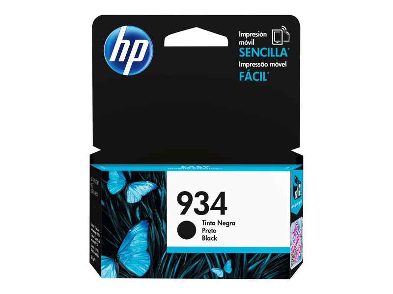 HP 934 - Negro - original - cartucho de tinta - para Officejet 6812, 6815, 6820; Officejet Pro 6230, 6230 ePrinter, 6830, 6835