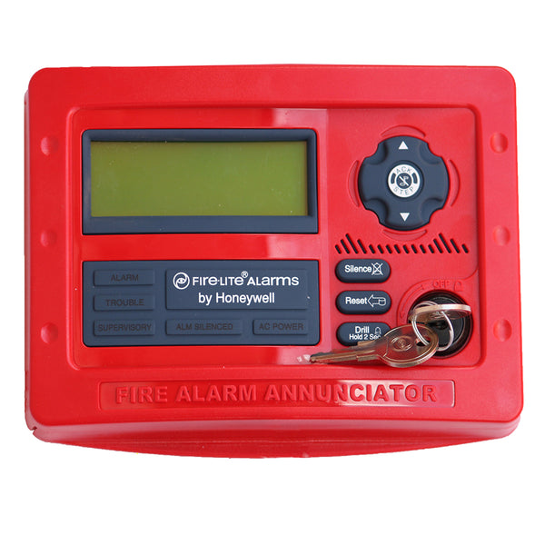 Firelite - LCD Annunciator - Video - 80 Char Red