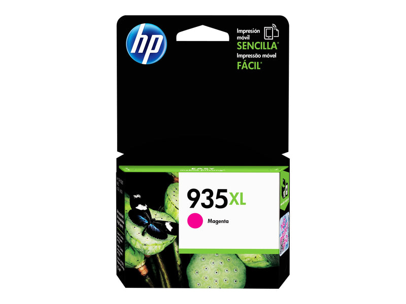 HP 935XL - Magenta - original - cartucho de tinta - para Officejet 6812, 6815, 6820; Officejet Pro 6230, 6230 ePrinter, 6830, 6835