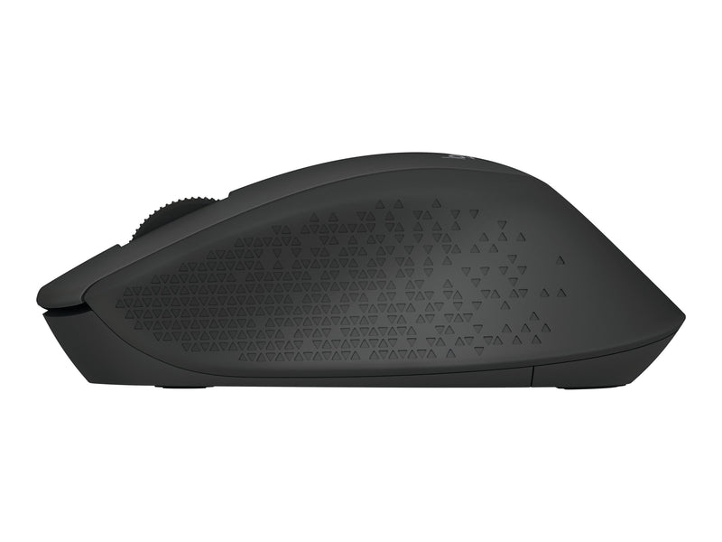 Logitech M280 - Rat—n - diestro - —ptico - 3 botones - inal‡mbrico - 2.4 GHz - receptor inal‡mbrico USB - negro