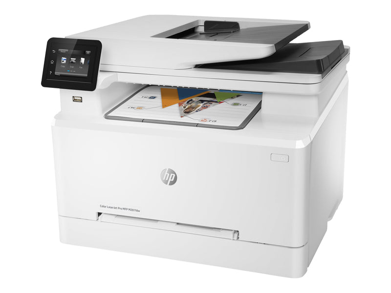 HP Color LaserJet Pro MFP M281fdw - Impresora multifunci—n - color - laser - Legal (216 x 356 mm) (original) - A4/Legal (material) - hasta 22 ppm (copiando) - hasta 22 ppm (impresi—n) - 250 hojas - 33.6 Kbps - USB 2.0, Gigabit LAN, Wi-Fi(n), host USB