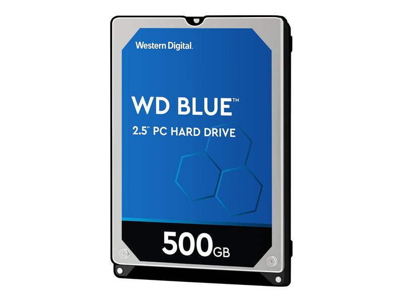 "WD Blue WD5000LPCX - Disco duro - 500 GB - interno - 2.5"" - SATA 6Gb/s - 5400 rpm - búfer: 16 MB"