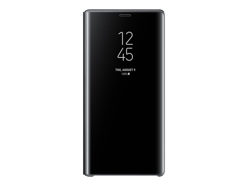 Samsung Clear View Standing Cover EF-ZN960 - Con tapa para telŽfono m—vil - negro - para Galaxy Note9, Note9 Enterprise Edition, Note9 Ultimate Edition