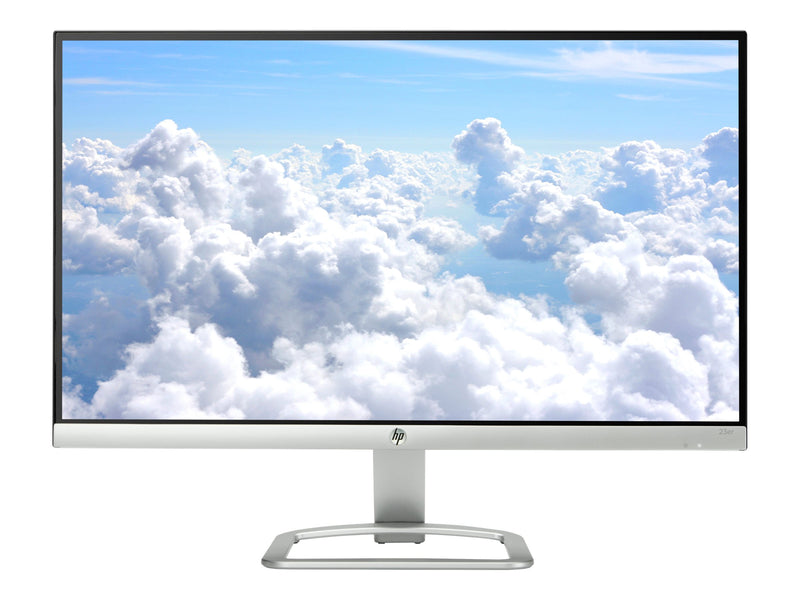 "HP 23er - Monitor LED - 23"" (23"" visible) - 1920 x 1080 Full HD (1080p) - IPS - 250 cd/m² - 1000:1 - 7 ms - HDMI, VGA - blanco tormenta"
