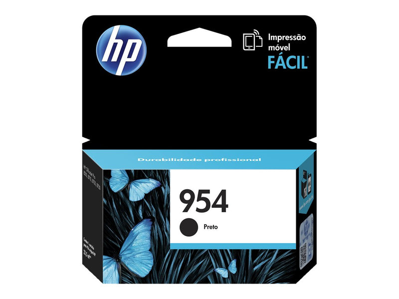 HP - Ink cartridge - Black - Model 954 1000 pages