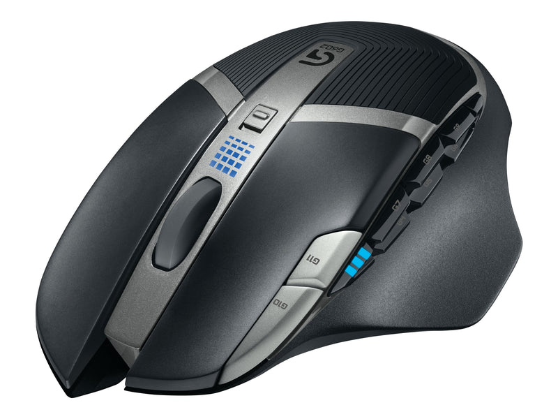 Logitech Gaming Mouse G602 - Rat—n - diestro - laser - 11 botones - inal‡mbrico - 2.4 GHz