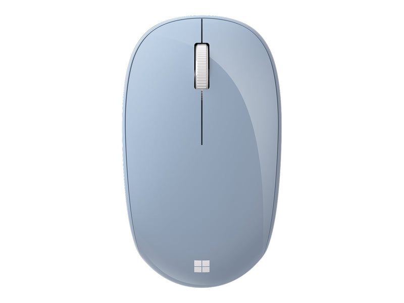 Microsoft Bluetooth Mouse - Rat—n - —ptico - 3 botones - inal‡mbrico - Bluetooth 5.0 LE - azul pastel