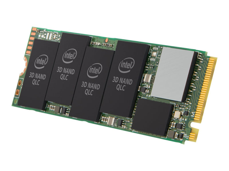 Intel - Solid state drive - Internal hard drive - 1 TB - M.2 2280 - PCI Express 3.0 x4 (NVMe) - 3D3