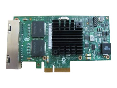 Intel I350 QP - Adaptador de red - PCIe - Gigabit Ethernet x 4 - para PowerEdge R230, R340, R440, R740, R7415, R7425, R840, R940, T140, T340, T440, T640, XR2