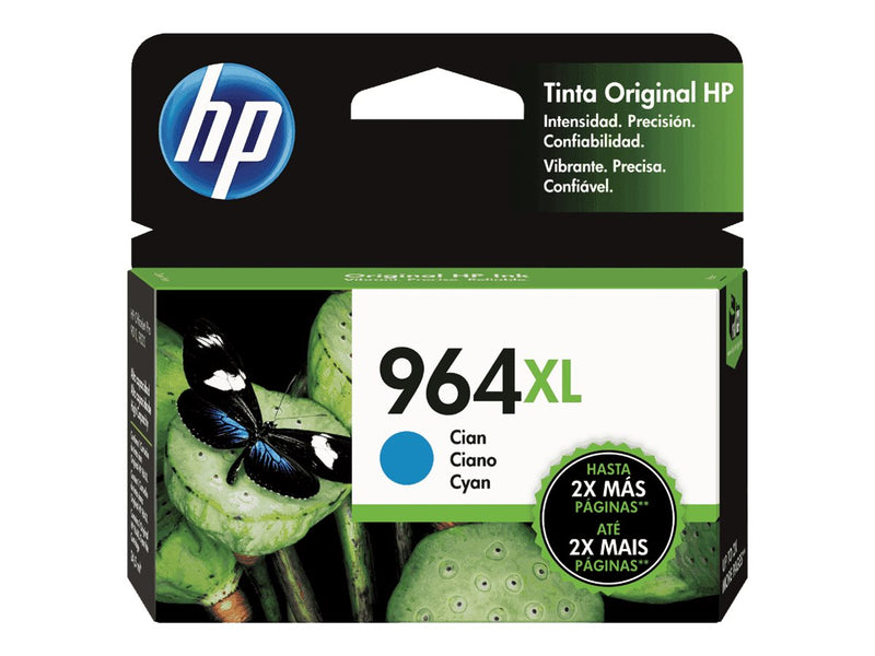 HP - 964XL - Ink cartridge - Cyan