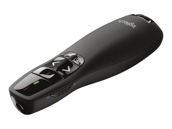 Logitech Wireless Presenter R400 - Control remoto para presentaciones - RF