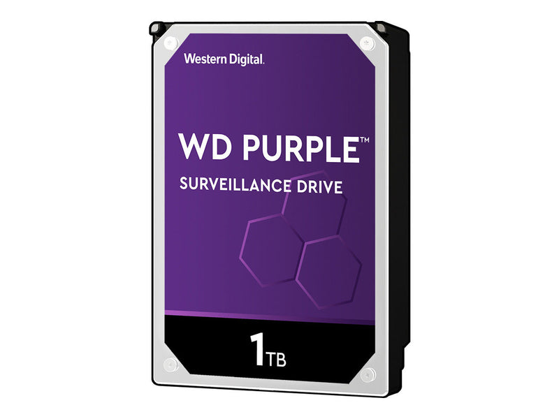 "WD Purple Surveillance Hard Drive WD10PURZ - Disco duro - 1 TB - interno - 3.5"" - SATA 6Gb/s - 5400 rpm - búfer: 64 MB"