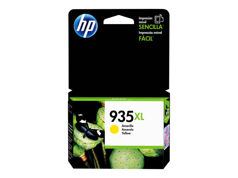 HP 935XL - Amarillo - original - cartucho de tinta - para Officejet 6812, 6815, 6820; Officejet Pro 6230, 6230 ePrinter, 6830, 6835