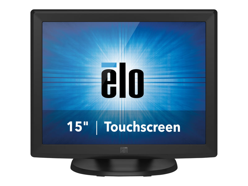 "Elo 1515L IntelliTouch - Monitor LED - 15"" - pantalla t‡ctil - 1024 x 768 - 225 cd/m² - 800:1 - 8 ms - VGA - gris oscuro"