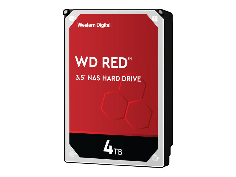 "WD Red NAS Hard Drive WD40EFRX - Disco duro - 4 TB - interno - 3.5"" - SATA 6Gb/s - búfer: 64 MB - para My Cloud EX2; EX4"