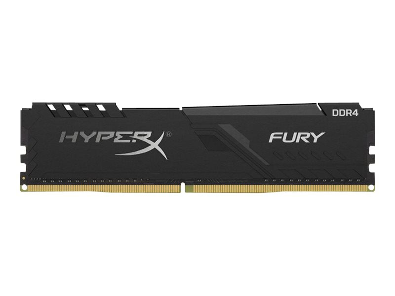 HyperX FURY - DDR4 - 8 GB - DIMM de 288 espigas - 2400 MHz / PC4-19200 - CL15 - 1.2 V - sin búfer - no ECC - negro