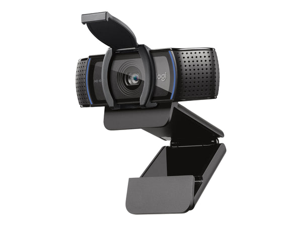 Logitech HD Pro Webcam C920S - C‡mara web - color - 1920 x 1080 - audio