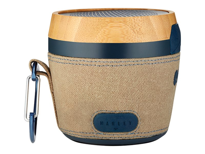 House of Marley Chant Mini - Altavoz - para uso port‡til - inal‡mbrico - Bluetooth - marino