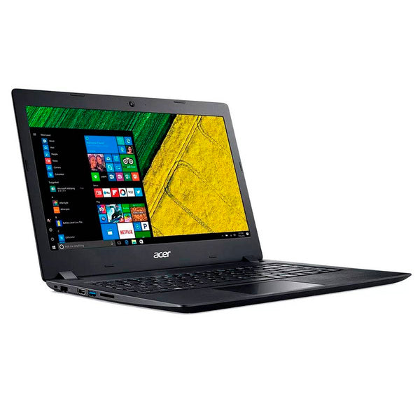 "Acer - Notebook - 14"" - Touchscreen - Intel Core i3 I3-7020U - 20GB (4 GB +16opt) - 1 TB - Windows 10 Home - 1-year warranty - NX.H1EAL.001"