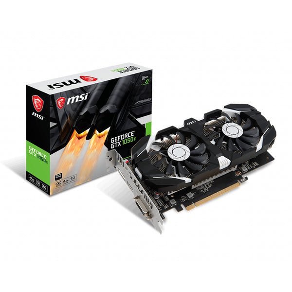 TARJ. VIDEO MSI GEFORCE GTX1050 Ti