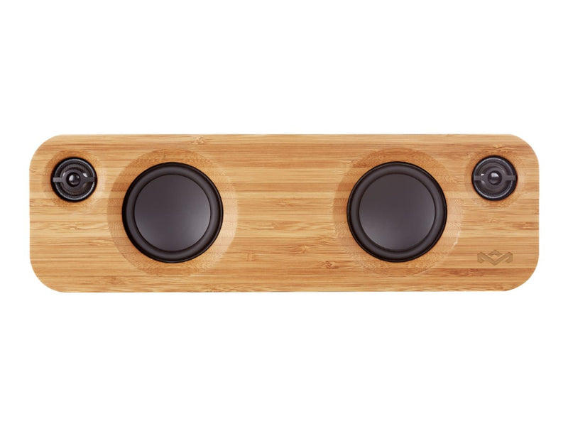 House of Marley Get Together Mini - Altavoz - para uso port‡til - inal‡mbrico - Bluetooth - 2 v'as - negro exclusivo