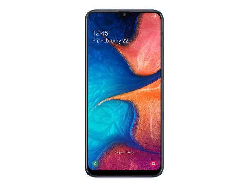 Samsung Galaxy A20 - Smartphone - Android - 3 GB - Blue - Touch