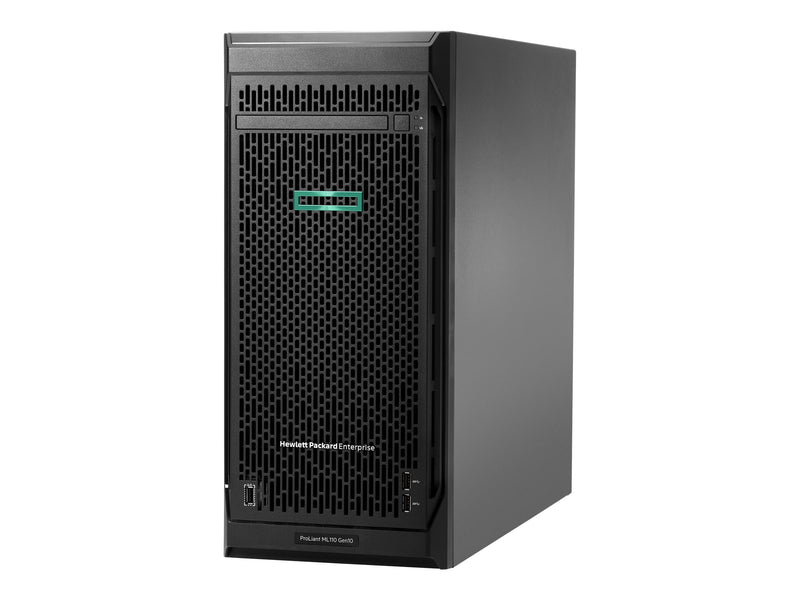 "HP ProLiant ML110 Gen10 Performance - Servidor - torre - 4.5U - 1 v'a - 1 x Xeon Bronze 3106 / 1.7 GHz - RAM 16 GB - SATA - hot-swap 3.5"" - sin disco duro - GigE - monitor: ninguno - HP Smart Buy"