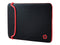 "HP Notebook Sleeve - Funda para port‡til - 14"" - negro, rojo - para HP 14, 15; Chromebook 14; ENVY 13; Pavilion 14; Pavilion x360; Spectre x360; Stream 14"