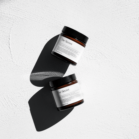 The Secret Skincare's Cellular Repair Night Cream and Day Brightening Elixir work to help resurface and brighten skin complexion in helping to get rid of or prevent hyperpigmentation.
