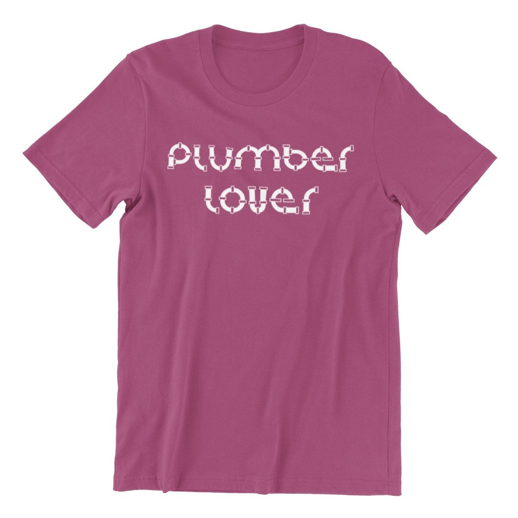 Plumber Lover T-Shirt - My Boyfriend is a Plumber