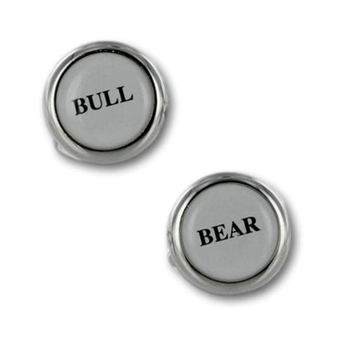 Manchetknopen Financieel Bull & Bear