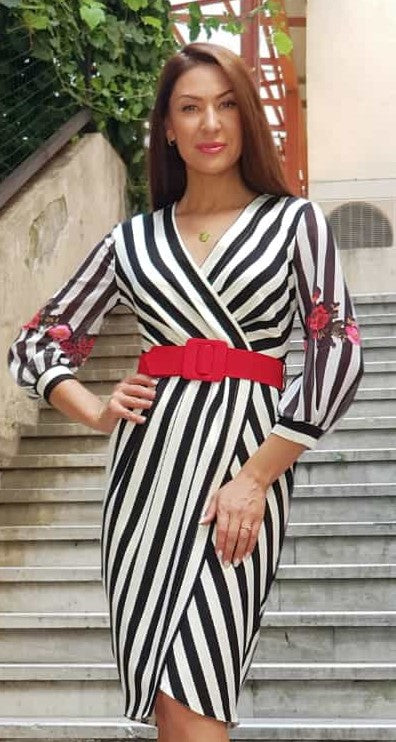 DAILA ZEBRA DRESS