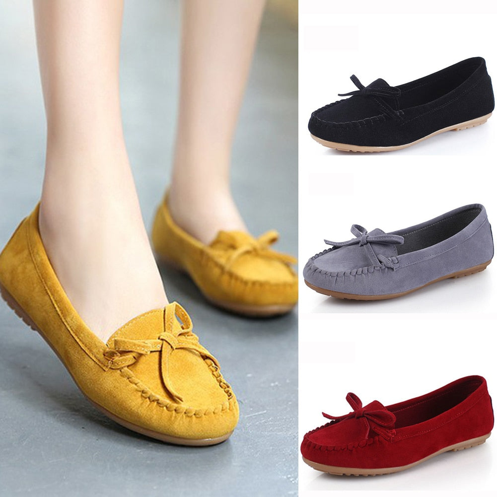 2019 Spring flat shoes women Casual Shoes Fashion Peas Ballet women's loafers Shoes Adult Lazy Sneakers Slip on Flat Footwear