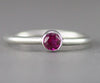 Sterling Ruby Ring
