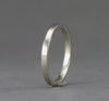 14k Palladium Whiter Gold Band