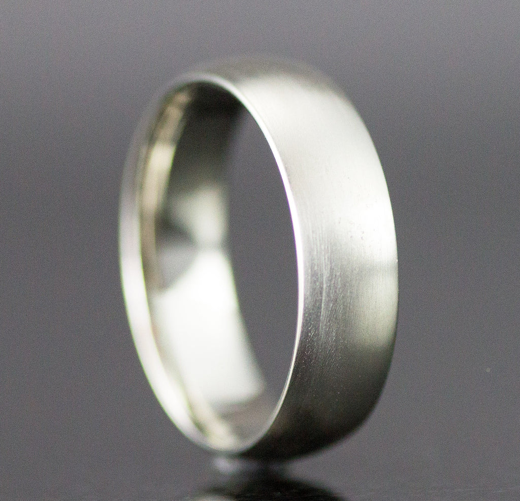 6mm Wide 14k Gold Band