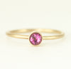 Pink-Tourmaline-14k-Gold-Ring-all-wired-up-jewelry-designs