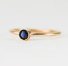 14k Sapphire Stacking Ring
