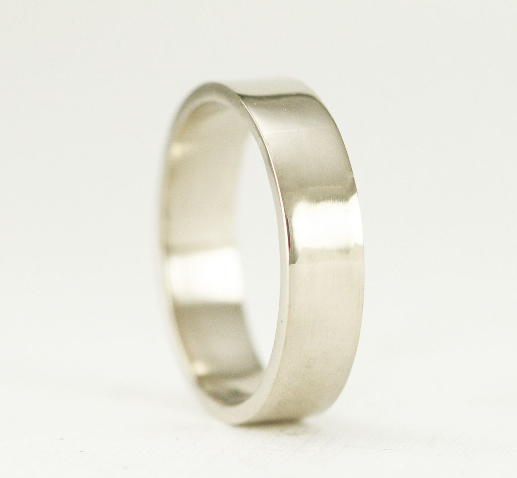 5mm Wide 14k Gold Band