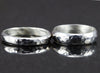 Sterling Wedding Bands - Matching His and Hers Wedding Rings