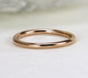 14k Rose Gold Stack Ring