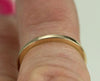 Solid 14k or 18k Gold Wedding Bands, Square Band 1.5mm or 2mm Wide, 14k Rose,White or Yellow Gold