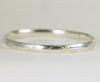 Leaf Pattern Sterling Bangle - Wide Sterling Bangle