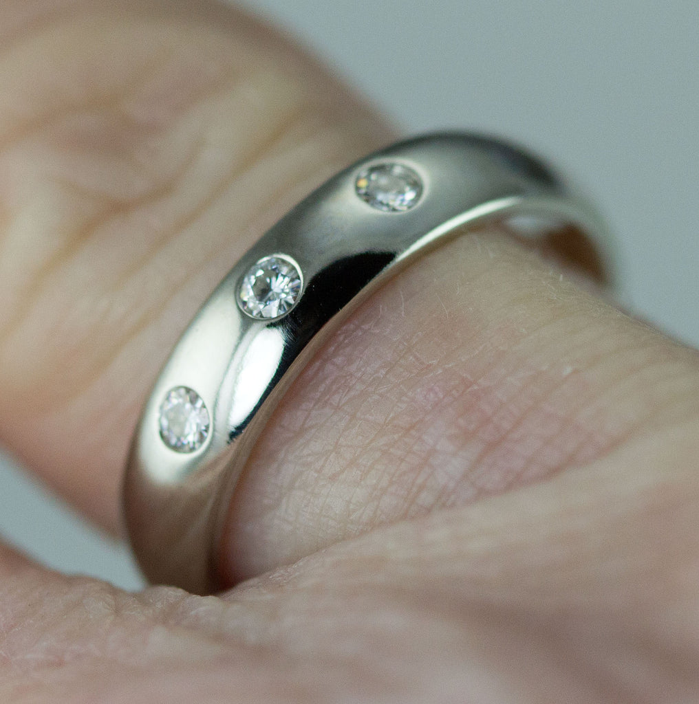 wide edgy sterling ring etsy nickel market wrap wedding rings large silver il free