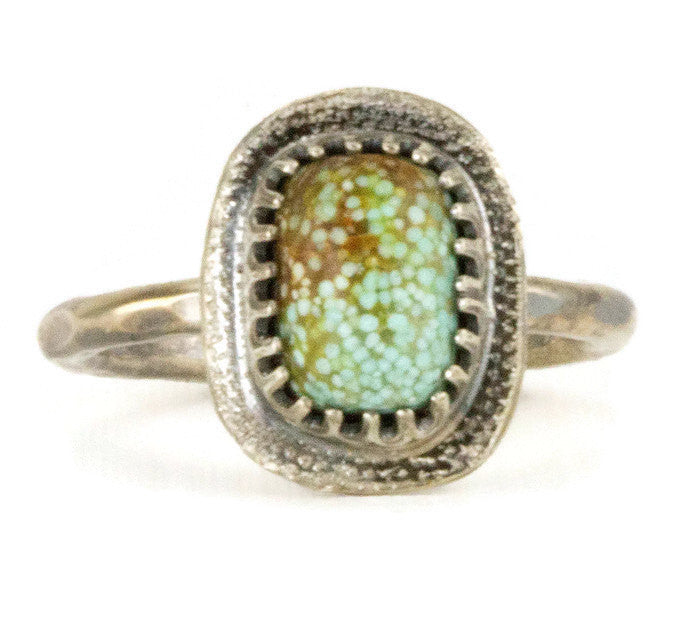 Small Turquoise Stack Ring