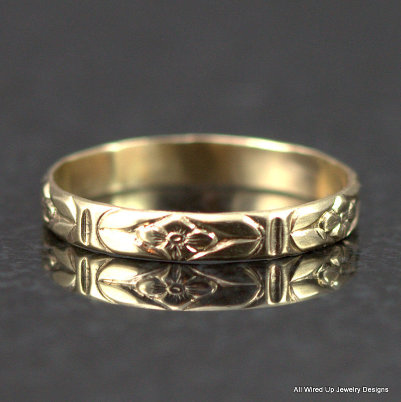 solid-14k-gold-flower-ring-all-wired-up-jewelry-designs